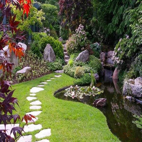Ландшафтный дизайн в английском стиле