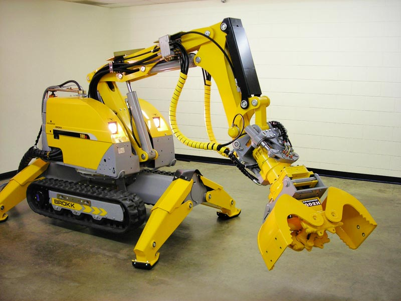 роботы манипуляторы для демонтажа