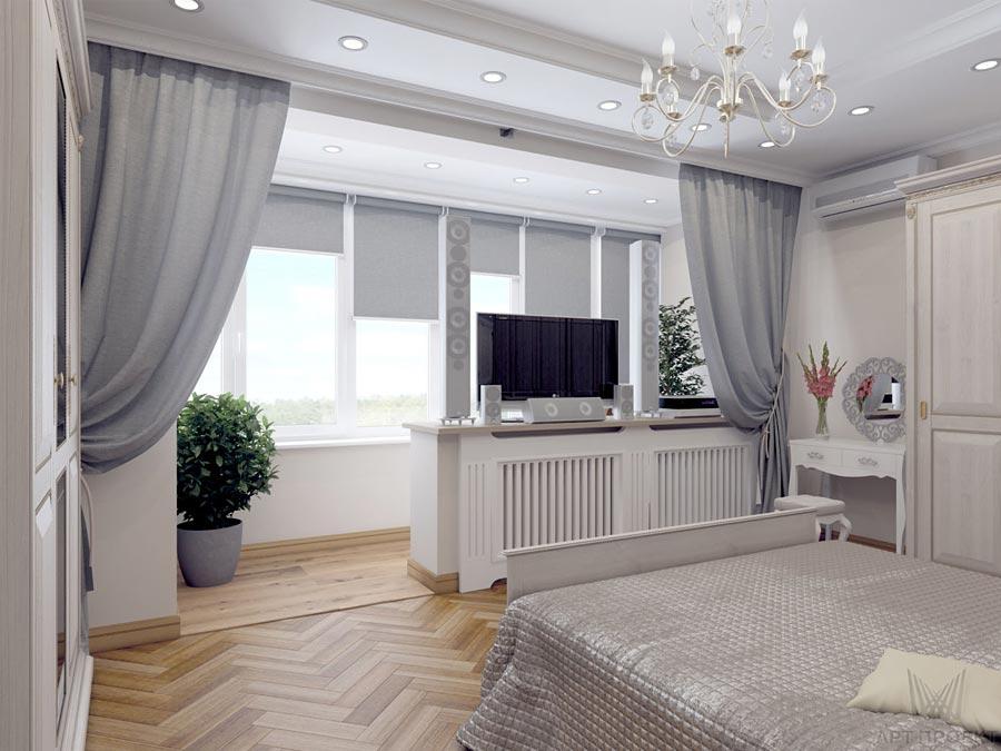 Увеличение площади квартиры за счет балкона