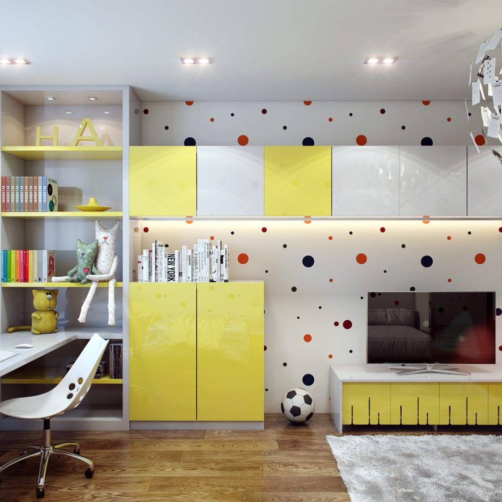 Дизайн спальни и детской комнаты