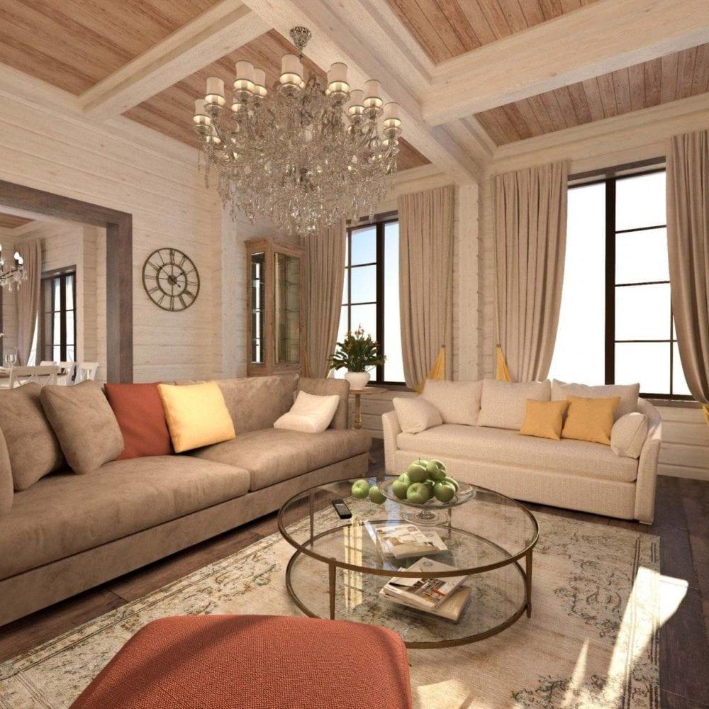 Дизайн домов, коттеджей и таунхаусов