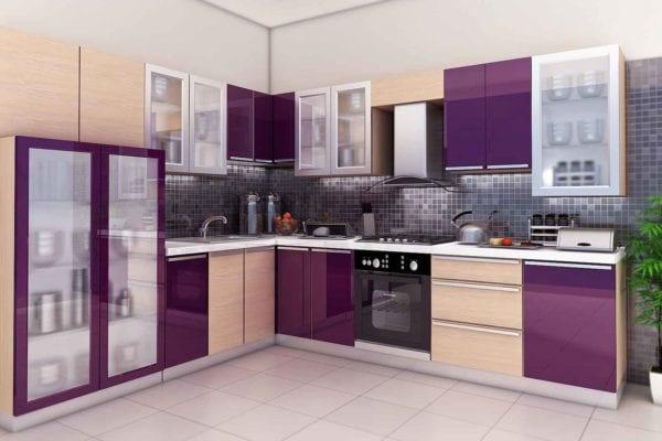 Дизайн кухни и ванной комнаты, кухня фото №2