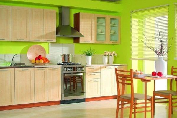 Дизайн кухни и ванной комнаты, кухня фото №1
