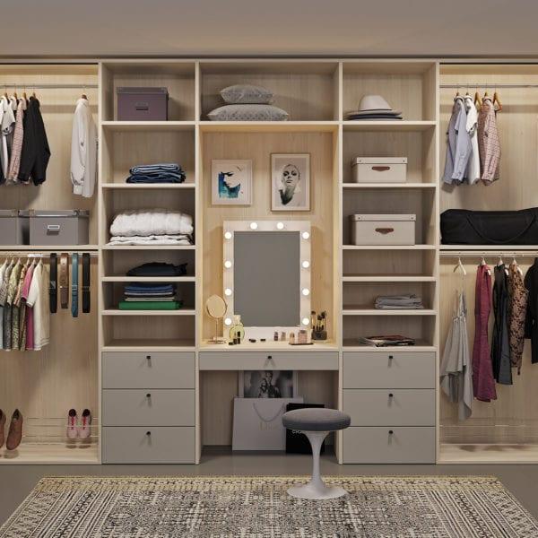 Мебель для гардеробной на заказ, фото №1