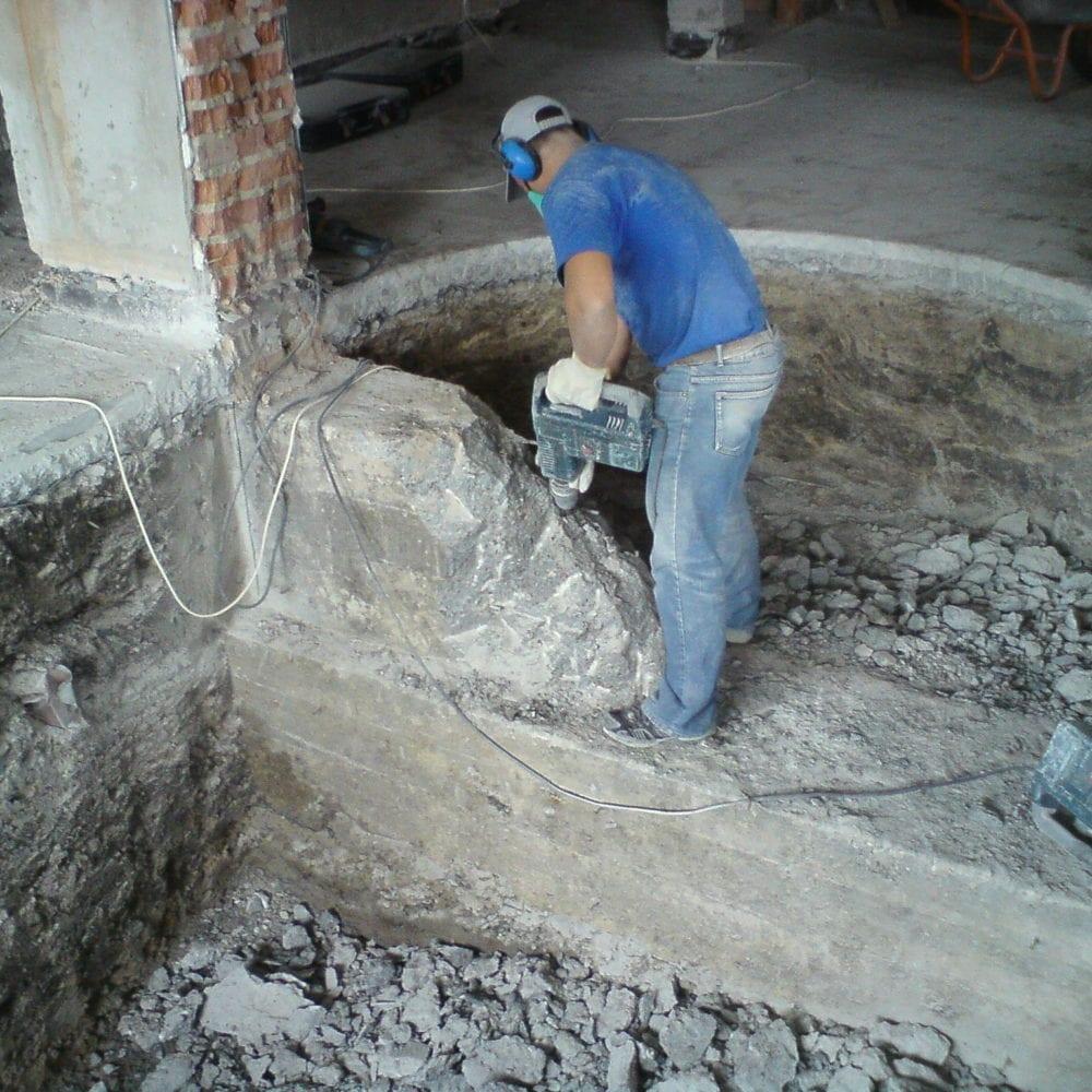 Демонтаж бетонных конструкций, фото №2