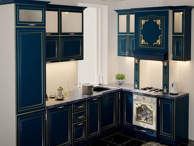 Дизайн-проект кухонь в классическом стиле