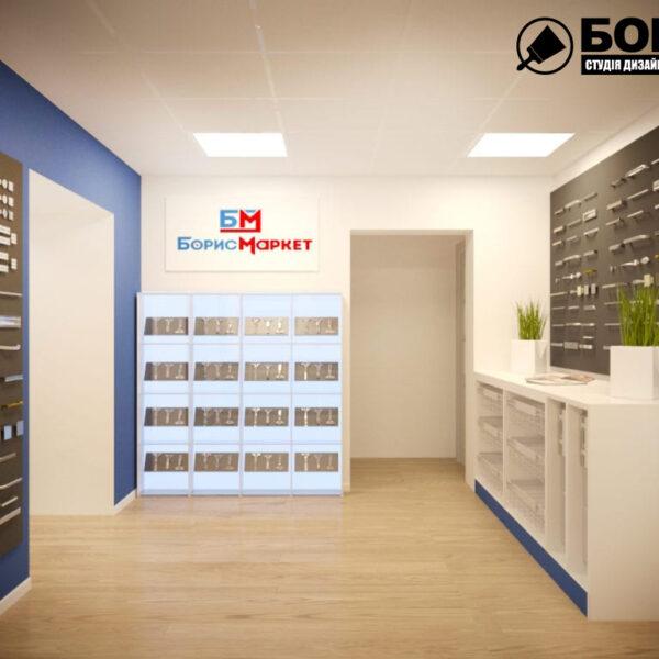 Дизайн интерьера магазин мебели «Борис Маркет», фото 2