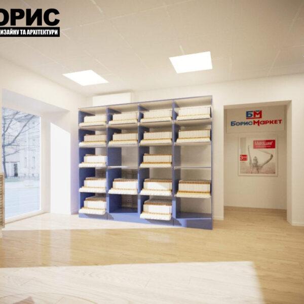 Дизайн интерьера магазин мебели «Борис Маркет», фото 3
