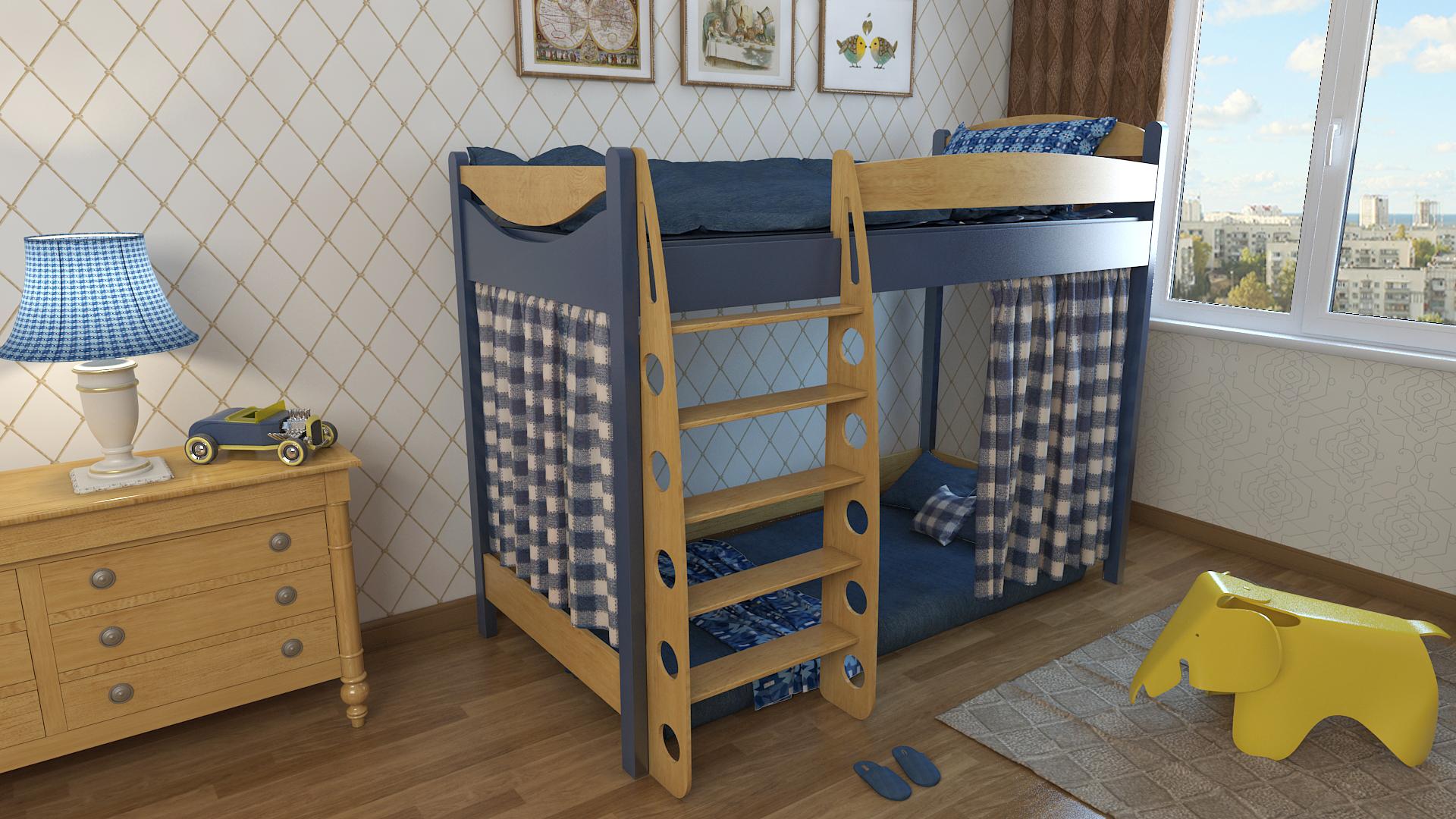 Как правильно выбрать двухъярусную кровать?