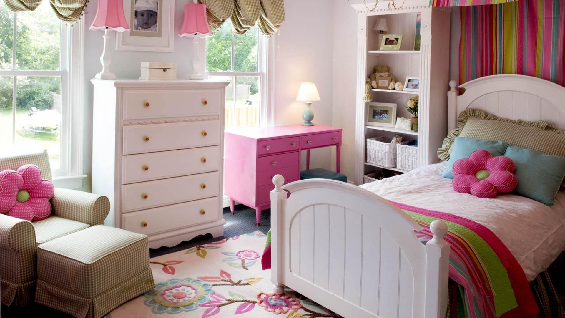 Изготовление мебели для девочки