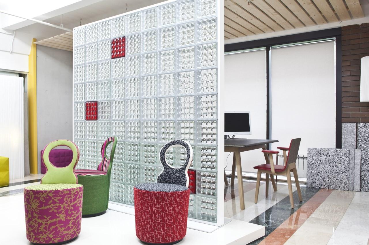 Применение стеклоблоков в интерьере квартир