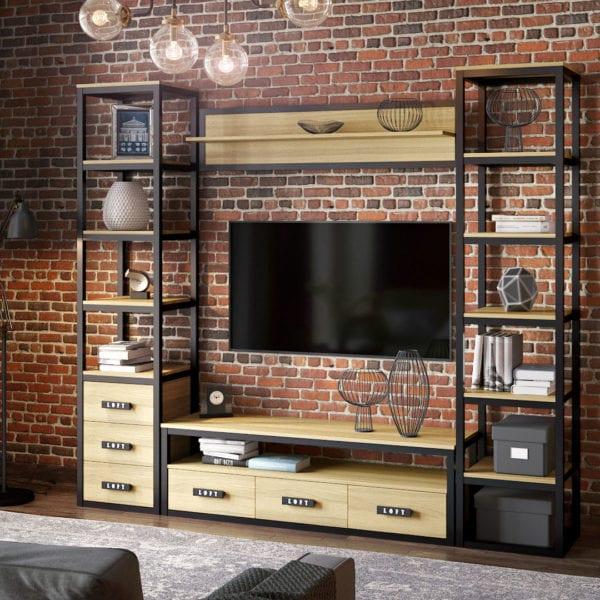 Мебель в стиле лофт на заказ, фото №2