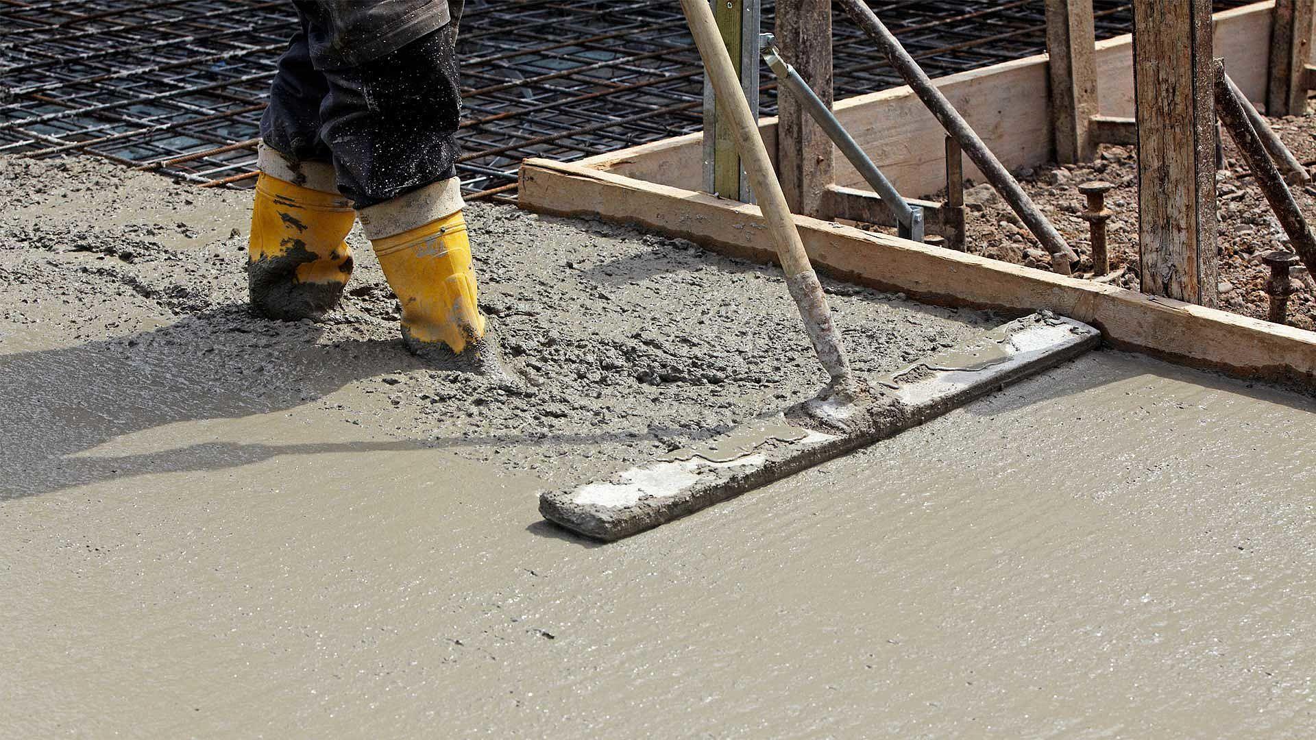 Монолитные работы: заливка бетона в зимний период