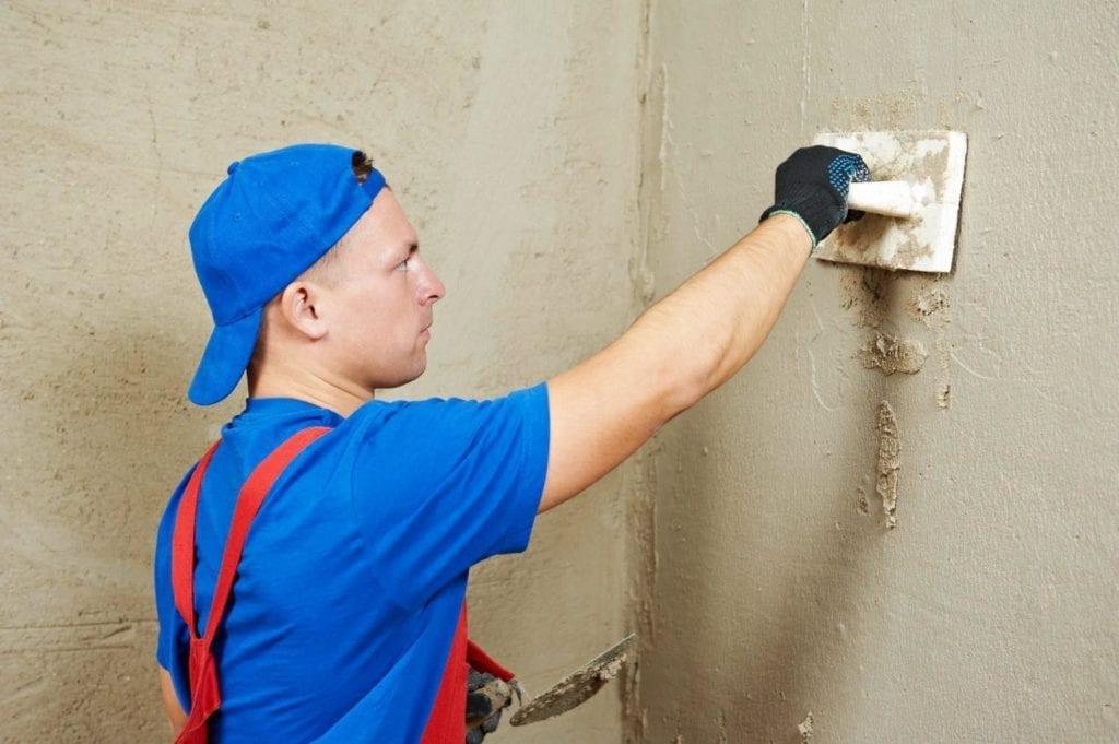 Штукатурка стены своими руками