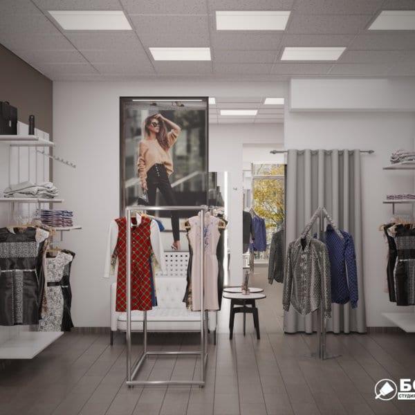Дизайн интерьера магазина одежды «MAGISHOP», фото №5