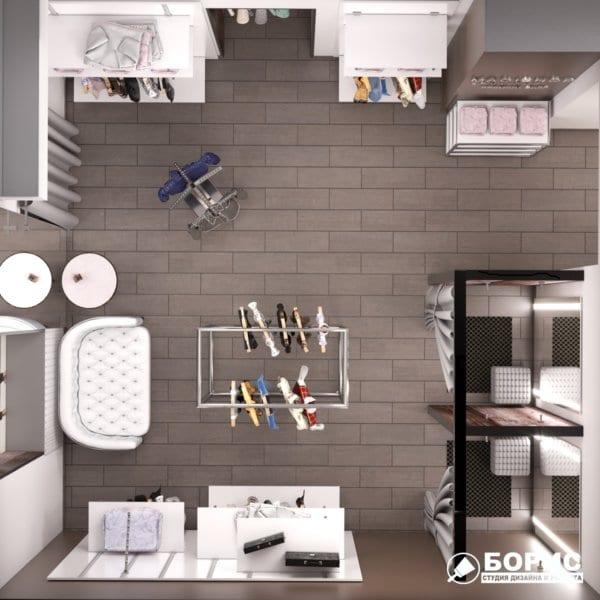 Дизайн интерьера магазина одежды «MAGISHOP», фото №6