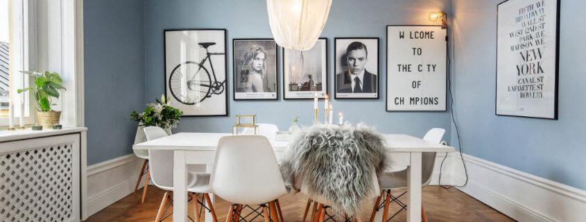 Дизайн интерьера в скандинавском стиле, кухня
