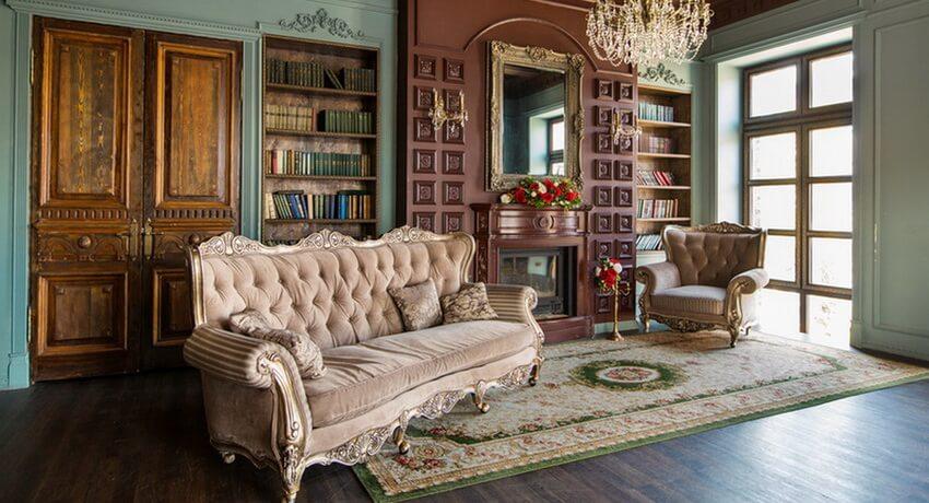 Дизайн классического стиля в интерьере