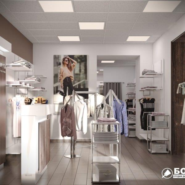 Дизайн интерьера магазина одежды «MAGISHOP», фото №1