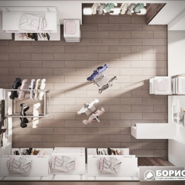 Дизайн интерьера магазина одежды «MAGISHOP», фото №7
