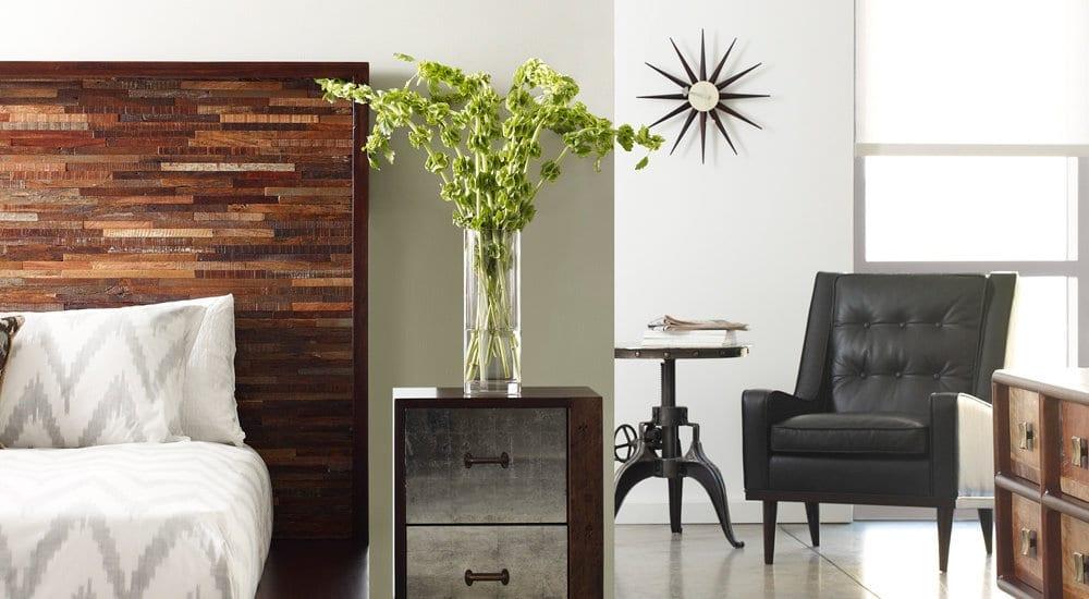 Мебель из тика в современном интерьере