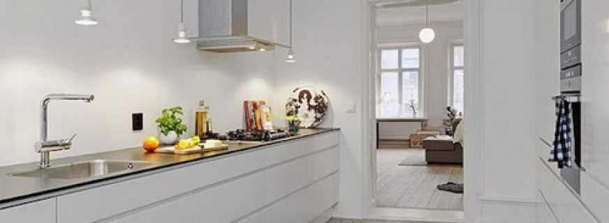 Тренд: кухня без верхнего яруса