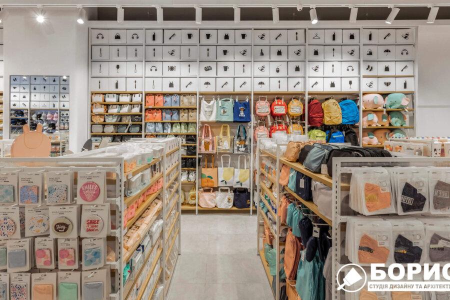 Ремонт магазину «MINISO» Фото №3