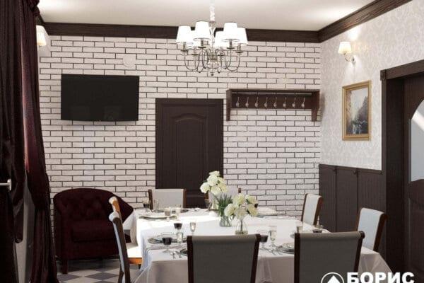 Дизайн ресторана «Милена»