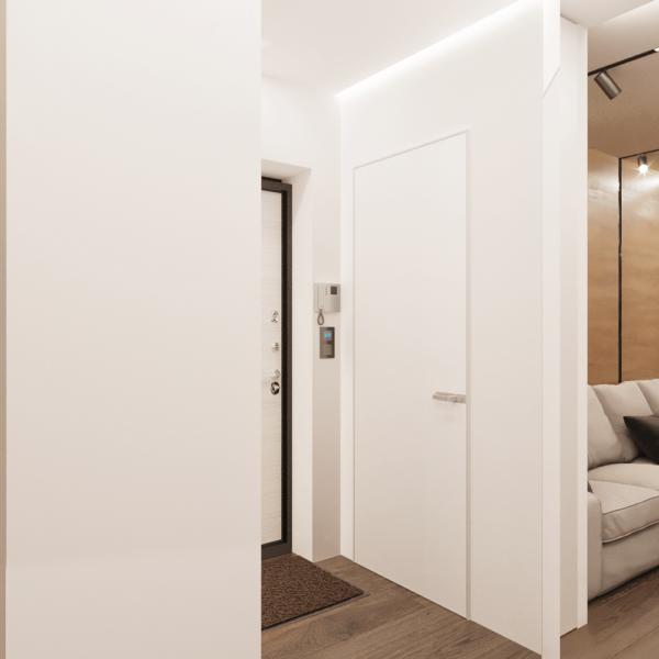 Дизайн интерьера квартиры ЖК «Левада», коридор фото №2