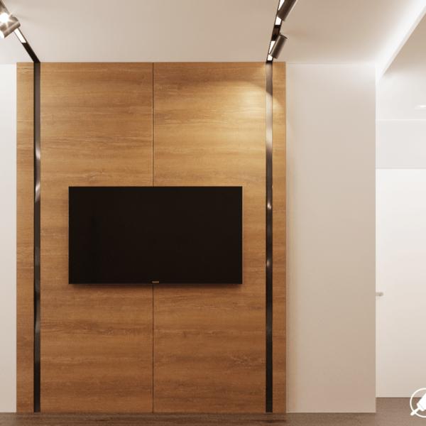 Дизайн интерьера квартиры ЖК «Левада», детская вид сзади фото №2