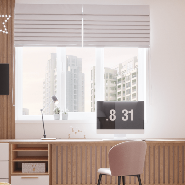 Дизайн интерьера квартиры ЖК «Левада», детская вид сзади
