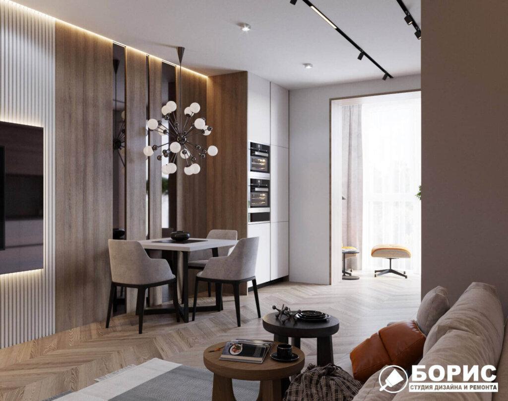 Дизайн интерьера четырехкомнатной квартиры, фото 1