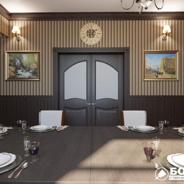 Дизайн интерьера ресторана «Милена», фото №1
