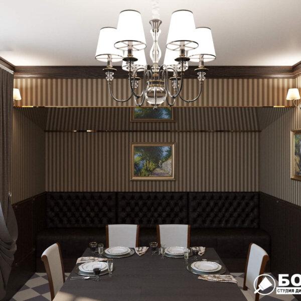 Дизайн интерьера ресторана «Милена», фото №3