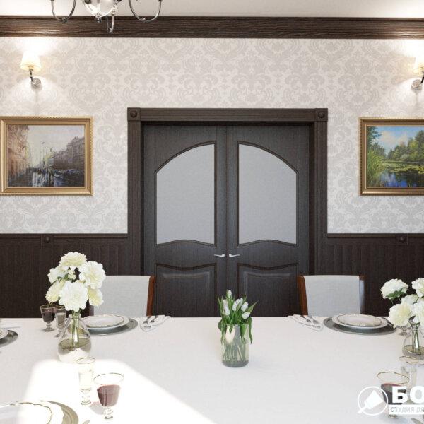 Дизайн интерьера ресторана «Милена», фото №4