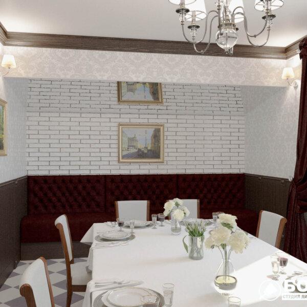 Дизайн интерьера ресторана «Милена», фото №5