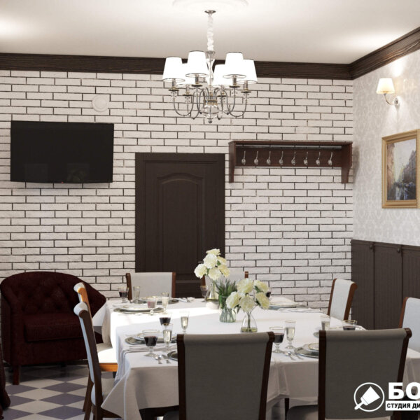 Дизайн интерьера ресторана «Милена», фото 6