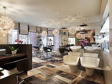 Дизайн интерьера салона красоты, фото 1