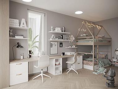 Дизайн спальни и детской комнаты, фото 1