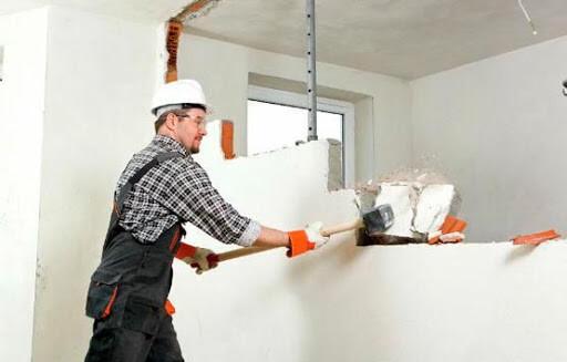 Демонтаж стен, фото №1