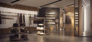 дизайн проект интерьера магазина харьков