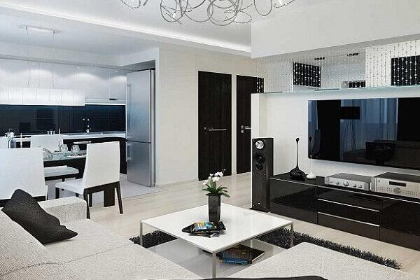 проект четырехкомнатной квартиры