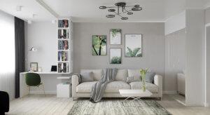 дизайнерские решения для однокомнатной квартиры