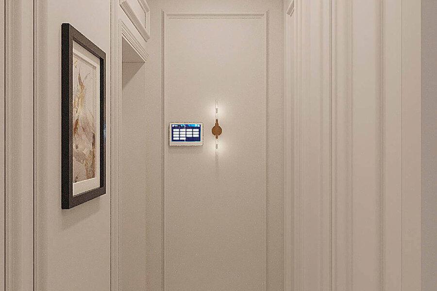 Дизайн-проект квартиры ЖК «Немецкий проект», коридор фото №1