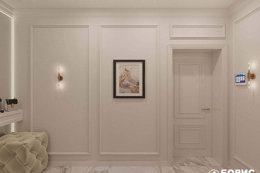 Дизайн-проект квартиры ЖК «Немецкий проект», холл фото №3