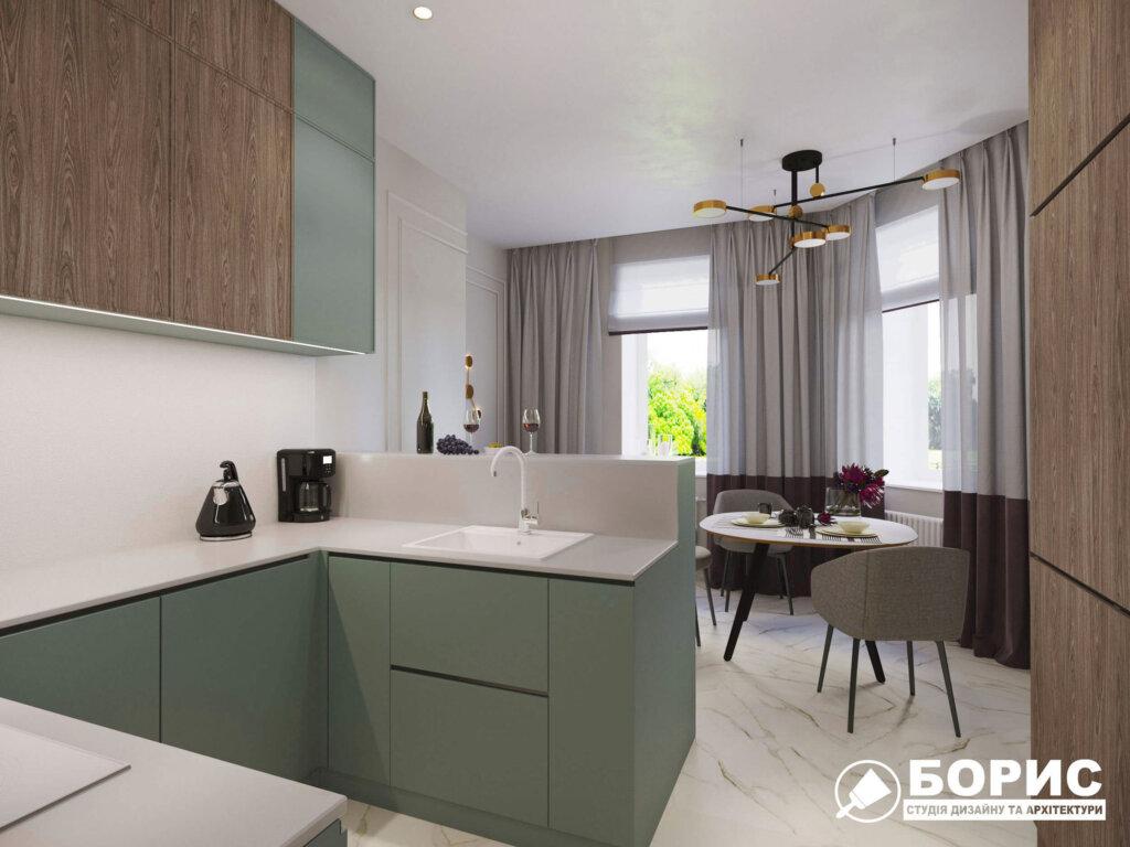 Дизайн интерьера квартиры в Хрущёвке, фото 1