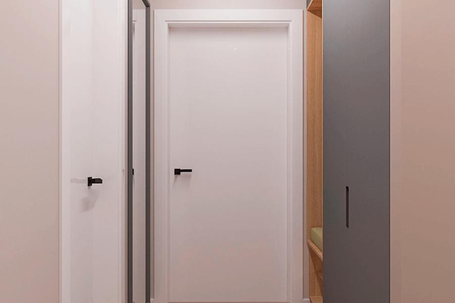 Дизайн-проект ЖК «Пролисок», коридор фото №1
