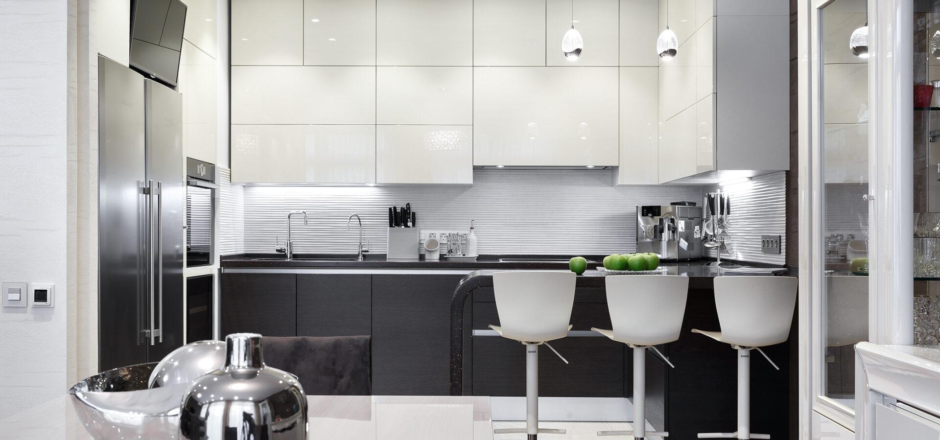 Подобрать модный дизайн интерьера кухни