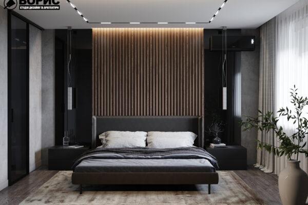 Дизайн интерьера двухкомнатной квартиры в ЖК «Архитекторов»1