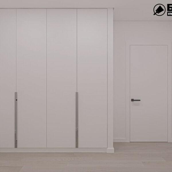 "Дизайн-проект двокімнатної квартири ЖК ""Дует"", передпокій"